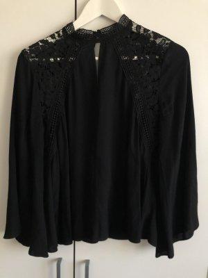 Bardot Lace Blouse black mixture fibre