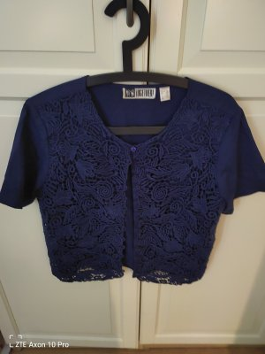 Together Blusa in merletto blu
