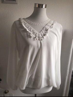 epoca Inserción de blusa blanco