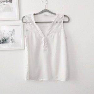 Bluse mit Spitze von Vero Moda Gr. M