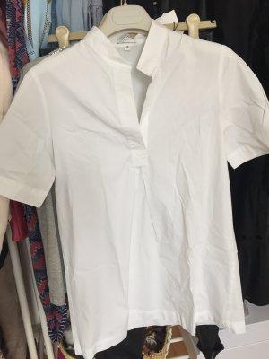 by Mi Hamburg Short Sleeved Blouse white