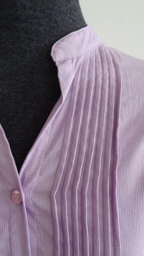 Bluse mit Stehkragen violett, Gr. 34