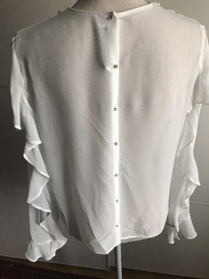 Bluse mit Steinen von Zara