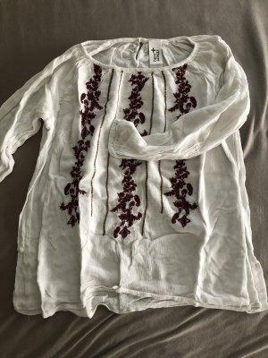 C&A Kimono Blouse white-bordeaux