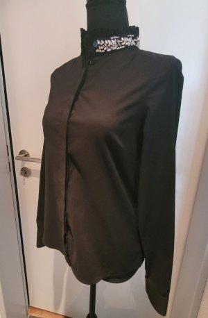 Steffen Schraut Camicia blusa nero-argento