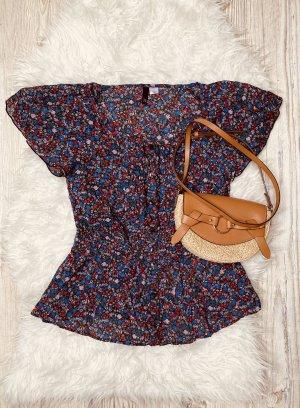 Bluse mit Streublümchen