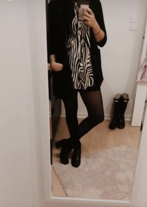 Bluse mit Tier Muster