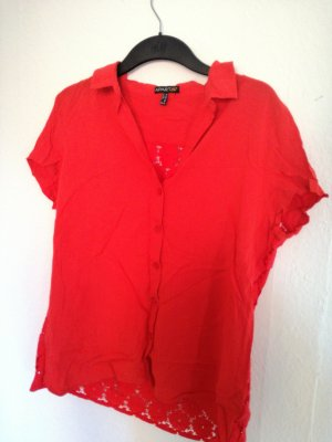Apart Short Sleeved Blouse red
