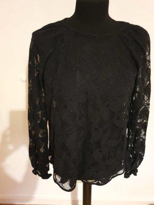 Yessica Premium Blusa in merletto nero