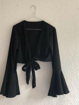 Bluse mit Trompetenärmel / flared sleeves top
