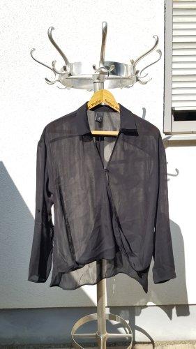 Best Connections Transparent Blouse black polyester