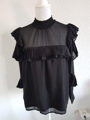 Pimkie Ruffled Blouse black