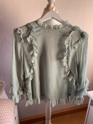 Bluse mit Volants H&M