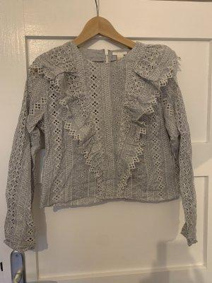 Bluse mit Volants von H&M