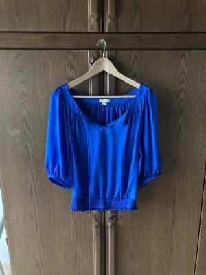 Monsoon Long Sleeve Blouse blue