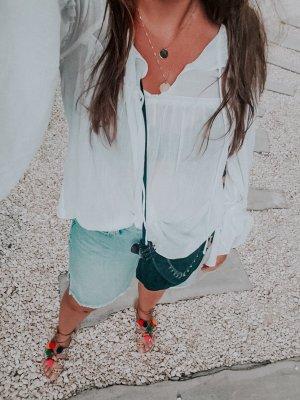 Bluse mit weiten Ärmeln von H&M