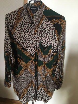 Monki Oversized blouse veelkleurig