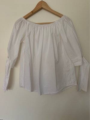 Mrs & HUGS Blouse Carmen blanc