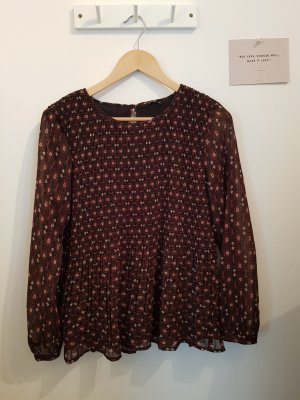 Bluse / Muster / Herbst