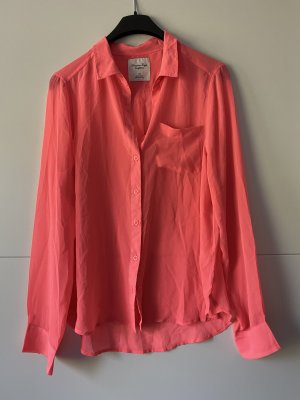 Bluse neon pink