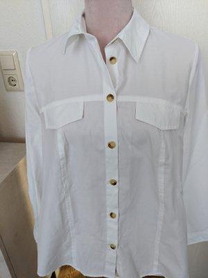 Collection L Shirt Blouse white cotton