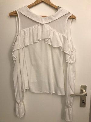 Ckh clockhouse Long Sleeve Blouse white