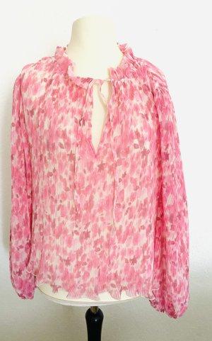 Ganni Camicetta a maniche lunghe rosa