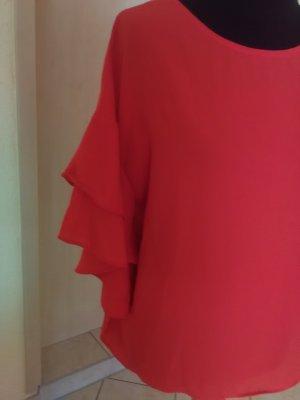Kik Oversized Blouse red
