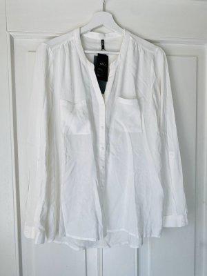 Bluse Only Neu mit Ettikett Weiß Hemdbluse 38