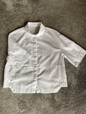 Opus Oversized Blouse white cotton