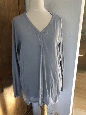 Bluse Opus hellblau Größe 38, 100% Baumwolle