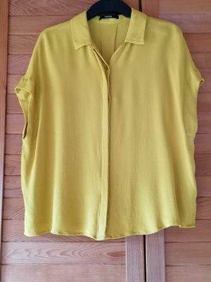 someday Bluzka oversize ciemny żółty Wiskoza