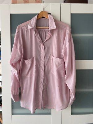Bluse Oversize Rose von Zara
