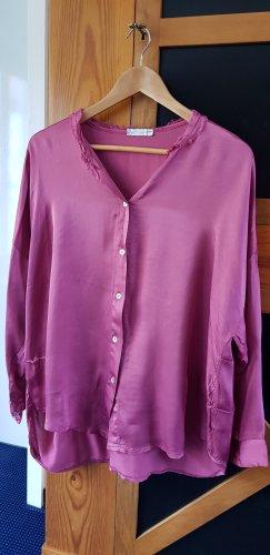 Susy Mix Bluzka oversize różowy