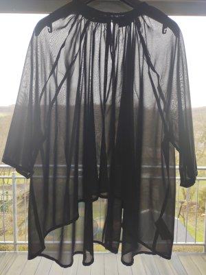 Ichi Blouse transparente noir