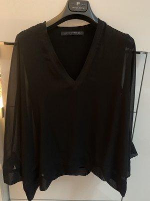 Zara Oversized Blouse black