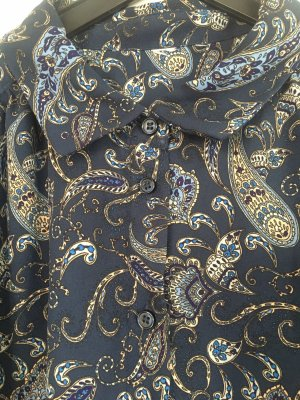 Bluse Paisley Muster