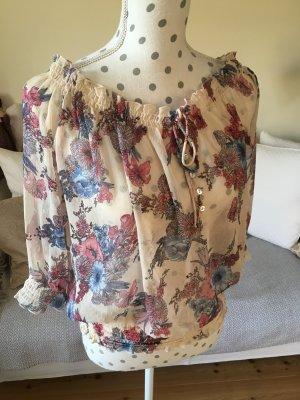 ALMA Pepe Jeans Transparante blouse veelkleurig