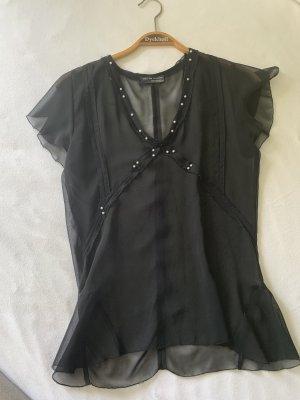 Bluse perlenbestickt von ZARA Gr.S