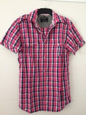 Bluse pink kariert Gr. S/M *NEU* Angelo Litrico DSTR Collection