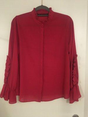 Bluse pink von Zara Gr. M