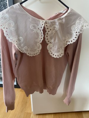 Bluse Polluver M rosa