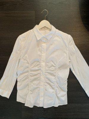 Prada Long Sleeve Blouse white