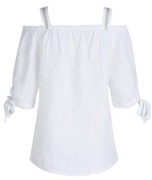 Linen Blouse white linen