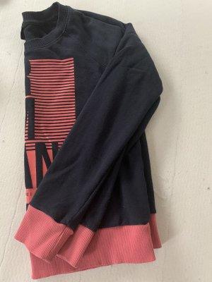 Armani Exchange Sweatshirt noir-saumon