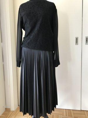 Bluse, Pullover, Sweat-Shirt, Ralph Lauren mit Spitze, schwarz, Gr. M