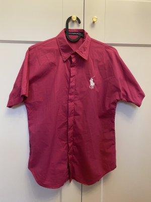 Polo Ralph Lauren Short Sleeved Blouse magenta