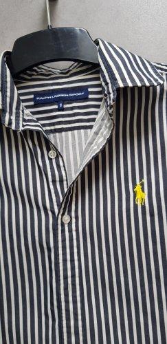 Bluse Ralph Lauren Polo Sport schwarz weiß gestreift