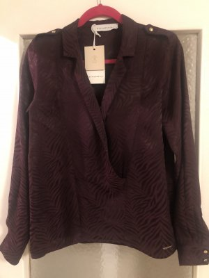 Rino & Pelle Colletto camicia bordeaux Viscosa