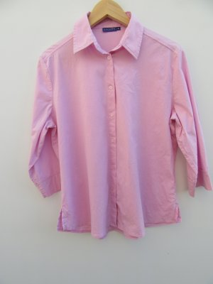 Bluse rosa Damen Vintage Retro Gr. 40/42